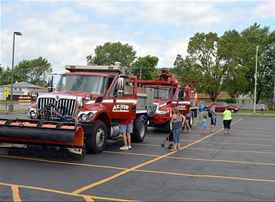 2017 FunFest Touch-A-Truck Event