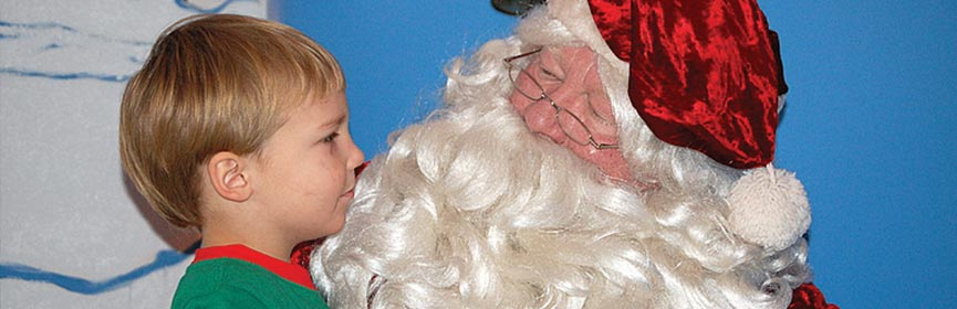 Breakfast with Santa Claus