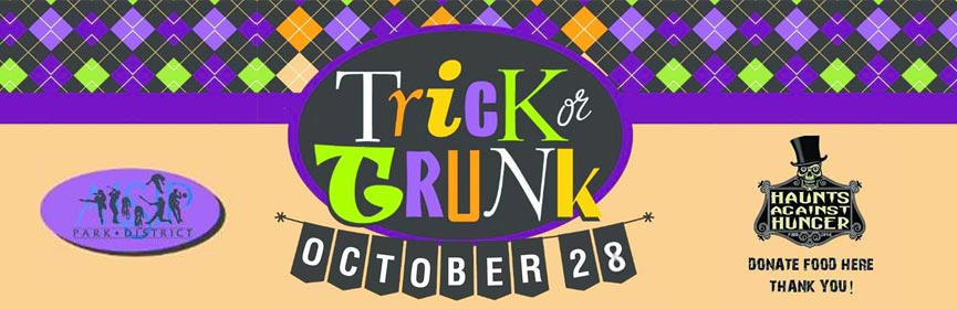Trick or Trunk Food Drive